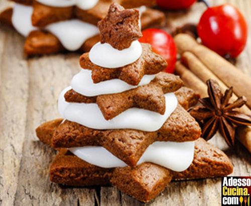 Biscotti a forma di alberello