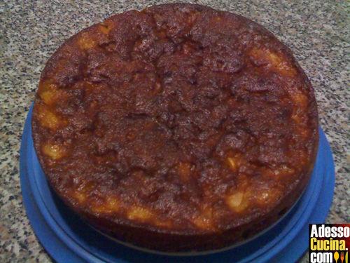 Torta di mele e zenzero fresco