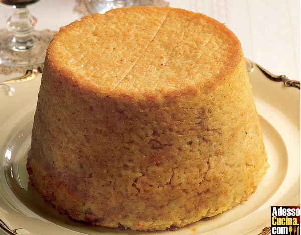 Torta di riso, verdure e acciughe - Ricetta