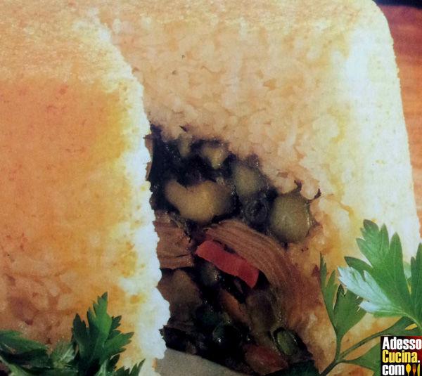 Torta di riso e verdure