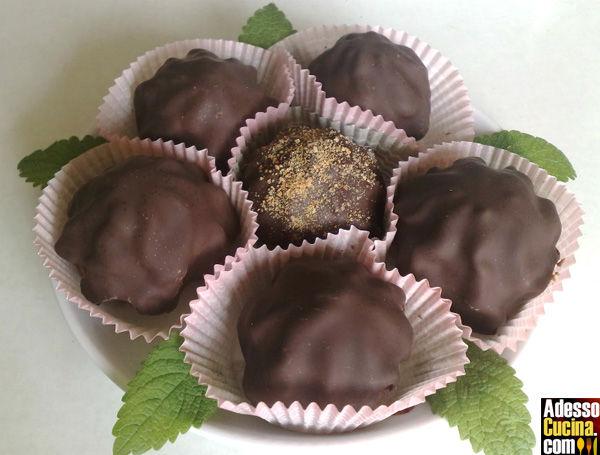 Ciuffetti di cioccolato al caffè
