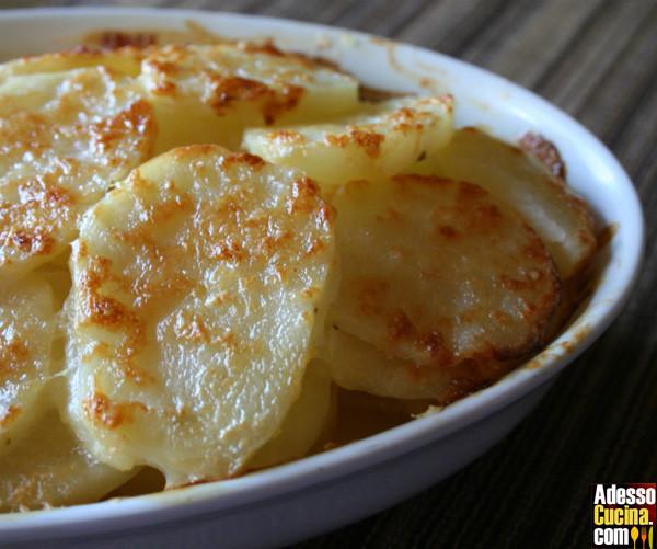 Rondelle di patate alla crema