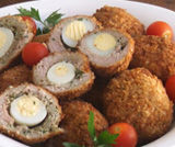 Polpette di pollo all�americana
