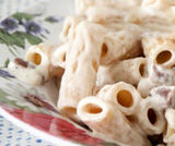 Maccheroncini con salsiccia cremosi