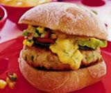 Hamburger di tacchino alla thailandese
