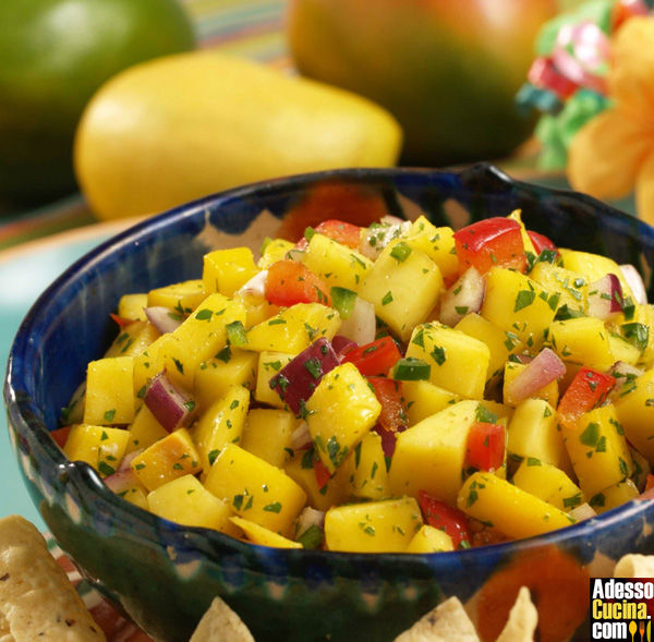 Salsa di mango speziata