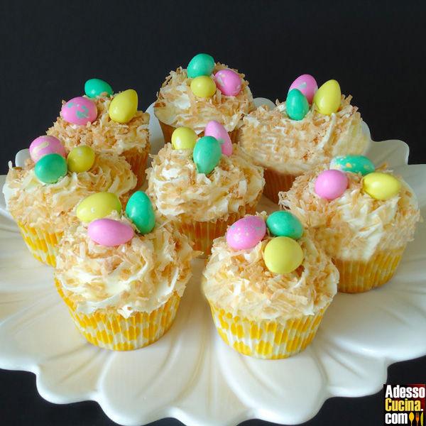 Cupcakes di Pasqua - Ricetta