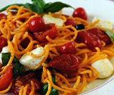 Spaghetti con tonno, acciughe e oli...