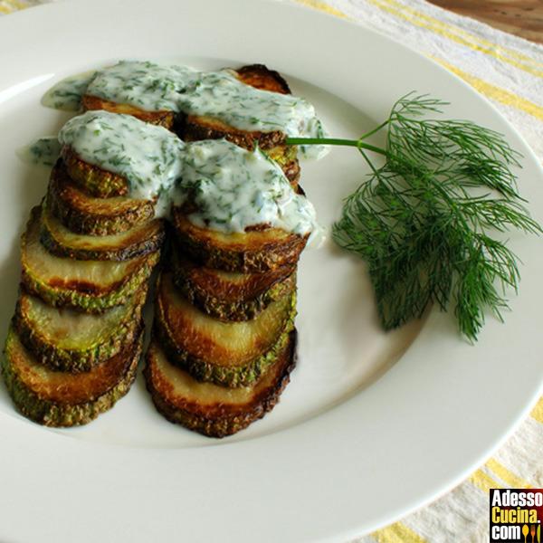 Zucchine marinate alla greca