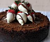 Cheesecake vegana al cioccolato e rum