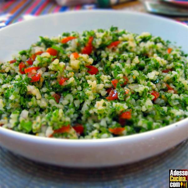 Taboulè speziato con verdure