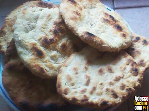 Pane veloce tipo arabo