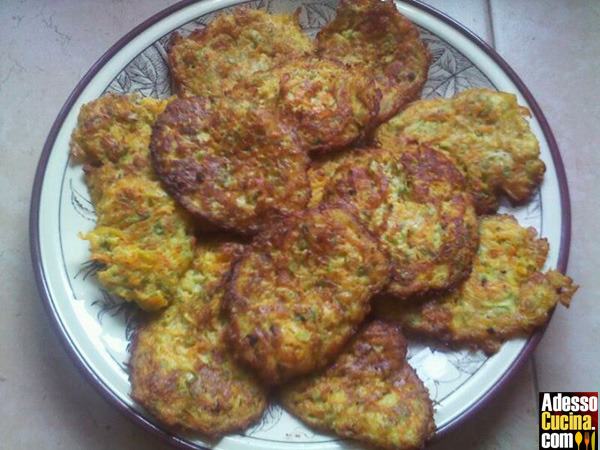 Frittatine di zucchine in carpione
