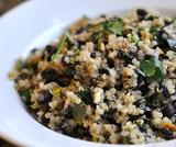 Quinoa con fagioli neri