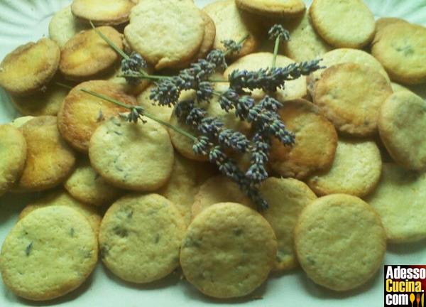 Biscotti ai fiori di lavanda - Ricetta