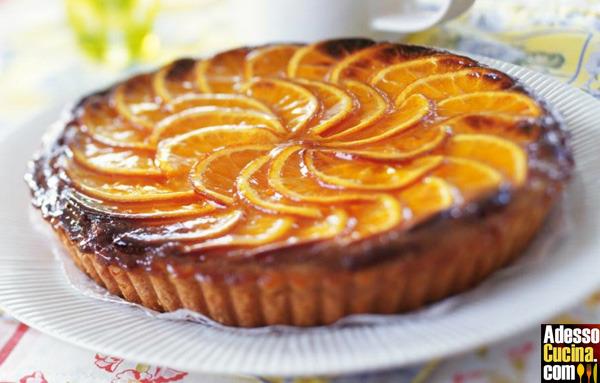 Crostata all'arancia candita - Ricetta