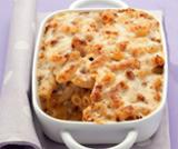 Maccheroni al formaggio con chorizo