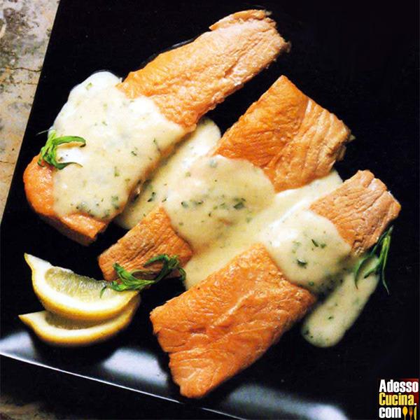 Filetti di salmone in salsa di zenzero - Ricetta
