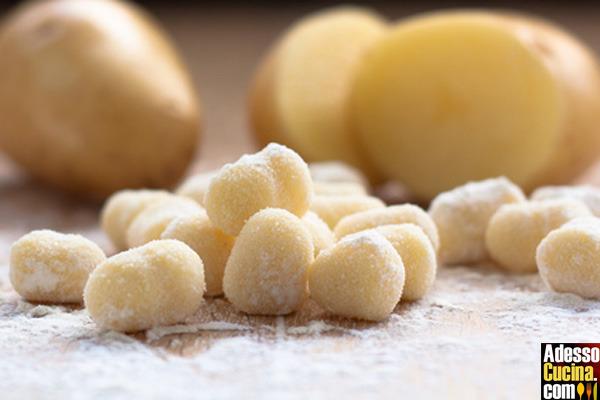 Gnocchi di patate e ceci