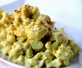 Cavolfiore con crema di gorgonzola