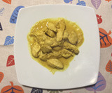 Pollo al curry e yogurt Dukan