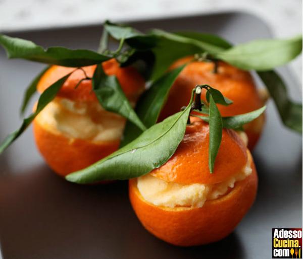 Mandarini gelati - Ricetta
