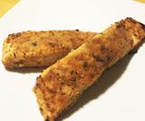 Filetti di salmone impanati al forno