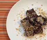 Tortelli al cacao ripieni di ricotta e noci