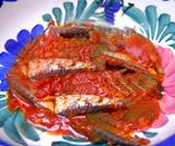 Sardine allo zafferano in umido