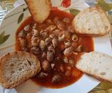 Lumachine di mare  con sughetto rosso