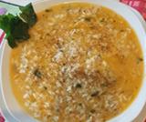 Minestra di riso e pesce
