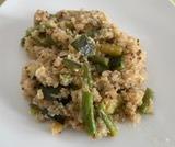 Quinoa con zucchine, asparagi e fagiolini