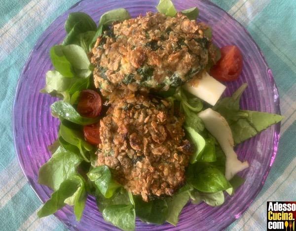 Hamburger di pollo e spinaci - Ricetta