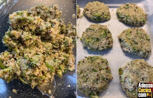 Polpette con quinoa e verdure