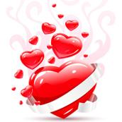 menu per la festa degli innamorati